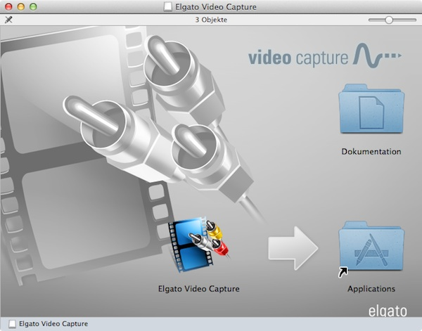 elgato video capture Installation